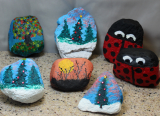 Painted Rocks 1