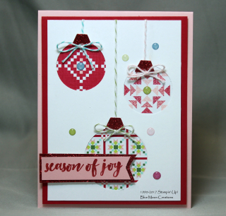 Christmas Quilt Ornaments