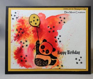 Brusho Party Pandas