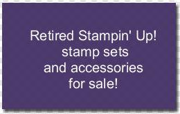 Retired stamp sets for sale for blog