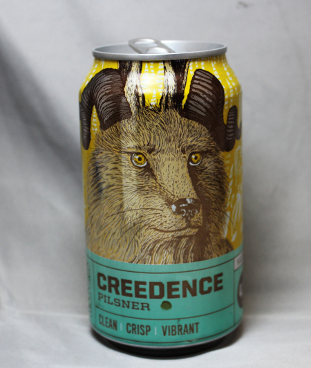 Creedence pilsner can