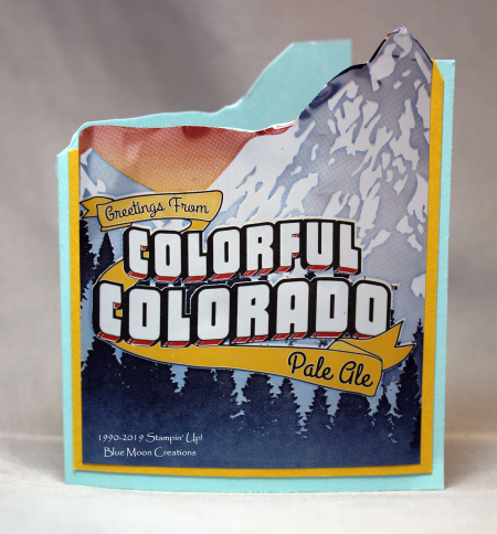 Left Hand Brewery Colorful Colorado mountain