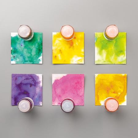 Pigment sprinkles