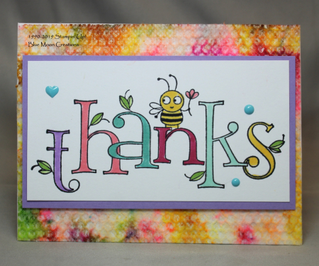 Bee Thankful Tie Dye