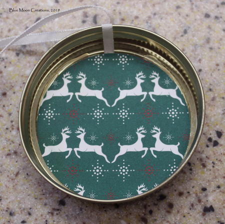 Deer mason jar ornament 1 back