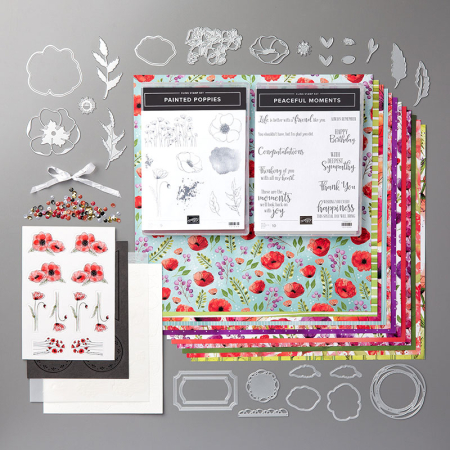 Peaceful Poppies Suite Bundle