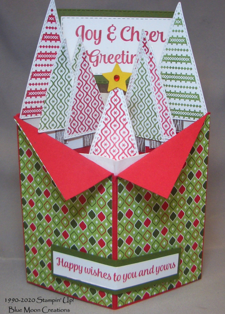 Tree Angle pop up card