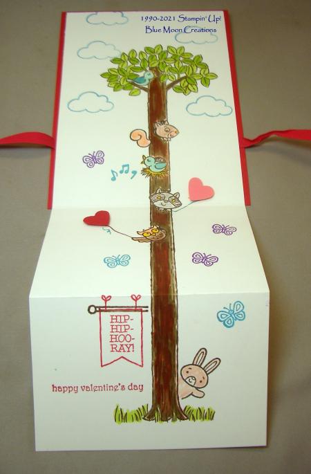 Ryans Valentines Day Card open