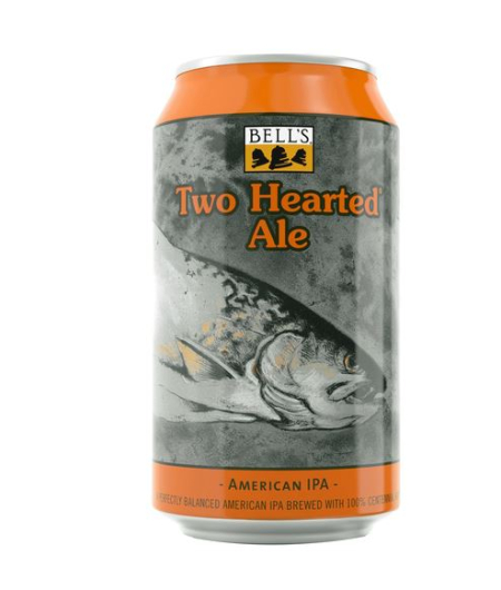 Two hearted pale ale can