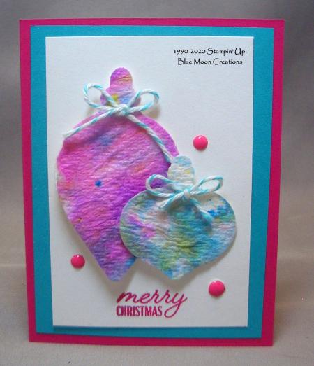 Tie dye ornaments bermuda bay melon mambo