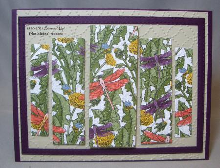 Shenandoah quilt pattern card