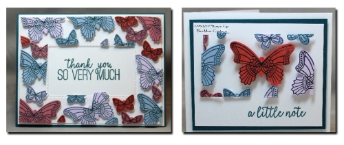 Butterfly Floating Frame